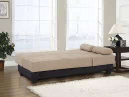 amazon com westport home westin contemporary sofa bed khaki