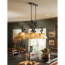 Pendant Kitchen Island Lights by Beautiful Black Wrought Iron Kitchen Island Light Vibrant Pendant