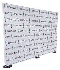 custom backdrops custom step and repeat backdrop sided