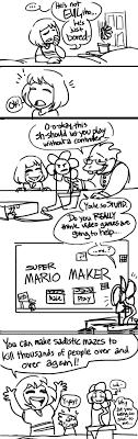 Meme Cartoon Maker - flowey discovers super mario maker undertale know your meme
