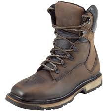 mens brown leather motorcycle boots shop cebu men u0027s toro trc1 steel toe leather work boot