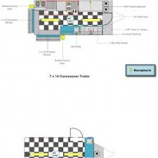 interior layout floor layouts advanced concession trailers