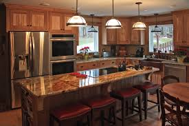 Rustic Maple Kitchen Cabinets Kitchen Pros And Cons Of Copper Used In Copper Kitchens