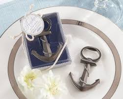 wedding bottle openers anchor nautical theme wedding favor bottle openers