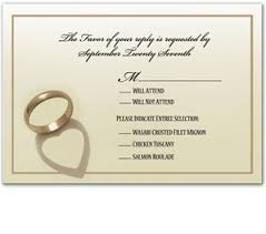Wedding Card Examples Wedding Rsvp Card Examples Justsingit Com