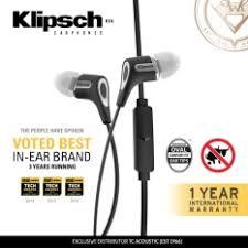Klipsch Image S4i Rugged Latest Klipsch In Ear Headphones Products Enjoy Huge Discounts