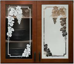 image of frosted glass kitchen cabinet doorswhere to buy panels