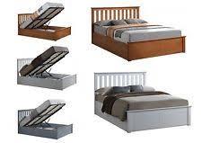 grey storage bed frames ebay