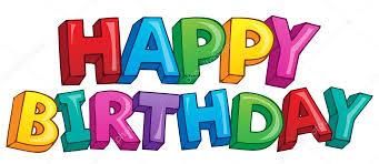 imagenes de cumpleaños sin letras tema de feliz cumpleaños 4 archivo imágenes vectoriales clairev