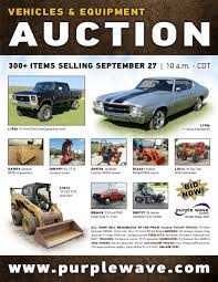 wednesday september 27 vehicles and equipment auction purp
