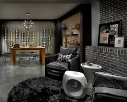 Wine Tasting Table Wine Tasting Table Wine Cellar Contemporary With Black Leather