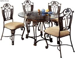 Dining Room Sets With Matching Bar Stools D396 15 Ashley Furniture Opulence Ii Glass Top Table My Dinning