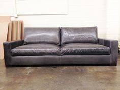 Pottery Barn Leather Couch Turner Leather Sofa Pottery Barn Home Pinterest Leather