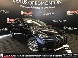 lexus of edmonton 170 street new 2017 lexus is 300 4 door car in edmonton ab l13244