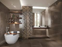 bad fliesen braun badezimmer fliesen braun mosaik wohndesign