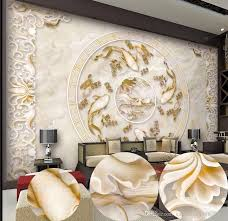 new custom 3d beautiful lotus pattern marble relief tv sofa new custom 3d beautiful lotus pattern marble relief tv sofa background wall mural 3d wallpaper 3d wall papers for tv backdrop high resolution wallpaper for