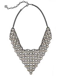 rock crystal necklace jewelry images Giada gunmetal statement necklace in crystal kendra scott jpg