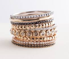 Stacked Wedding Rings by 25 Cute Stacking Rings Ideas On Pinterest Stacked Rings