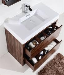walnut bathroom vanity bliss 36