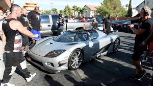 koenigsegg paris floyd mayweather pulls up to work in 4 8 million car cnn