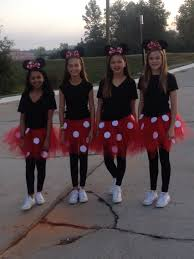 mini mouse for twin day homecoming week ideas pinterest