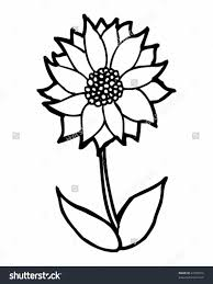 flower drawing cartoon funny cartoon flowers coloring page for