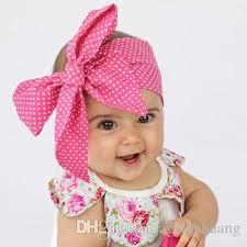 bow headband 0 6 years diy tie bow headband big bow dot print baby