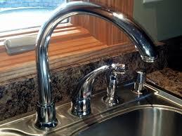 Moen Single Hole Kitchen Faucet Kitchen Faucet Moen One Handle Kitchen Faucet Gooseneck