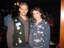 ugly christmas sweater party at black rock bar windy city wine