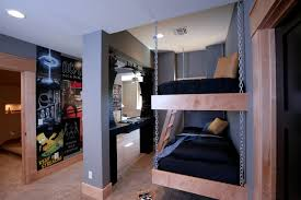 Bunk Bed Boy Room Ideas Hanging Bunk Bed Houzz