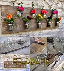 Mason Jar Vases Diy Hanging Mason Jar Flower Vases Pictures Photos And Images