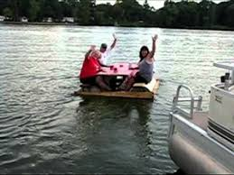 floating picnic table for sale picnic table pontoon youtube