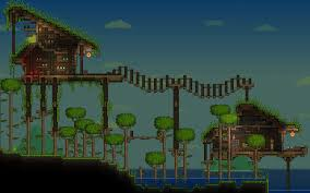 Cool Terraria House Designs