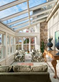 greenhouse sunroom sunroom sunroom traditional with gray rug glass roof