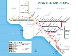 A Train Map Map Some Metrolink Trains Still Lack Anti Crash System 89 3 Kpcc