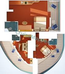 Carnival Floor Plan Carnival Conquest Cabins And Suites Cruisemapper