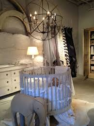best  round cribs ideas on pinterest  circular crib cribs  with luxury dimgray baby cribs warm home room designed unique textured grey wall  white skirted round crib from pinterestcom
