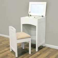 table captivating mirrored vanity table small white makeup storage
