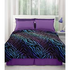 Zebra Print Throw Rug Your Zone Printed Plush Blanket Collection Walmart Com