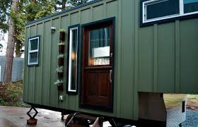 Tiny Home Builders Oregon Aerodynamic Tiny Home By Tiny Heirloom Tiny House Town