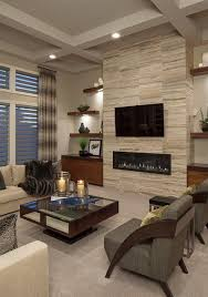 livingroom wall decor 18 lovely living room designs with wall mounted tv mounted tv