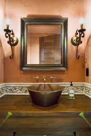 bathroom ideas wood framed bathroom wall mirrors with two wall