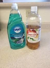 tub cleaner vinegar and dish soap no scrubbing heat 1 2c white