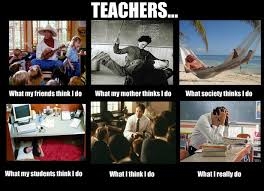 What People Think Meme - what people think tutors do vs what tutors really do blog