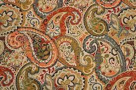 Upholstery Supplies Canada Paisley Fabric Ebay
