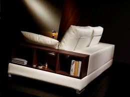 canape avec rangement canapé contemporain en cuir 2 places avec rangement