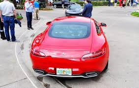 pink mercedes amg 2015 mercedes amg gt s red blue amelia island 11