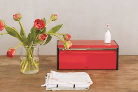 modern bread boxes for contemporary kitchen ozza info