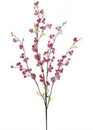 cherry blossom branches decorative faux branches at afloral com