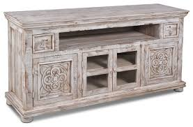 Tv Bench Sideboard Tv Cabinet Keystone Carved Tv Stand White Farmhouse Entertainment